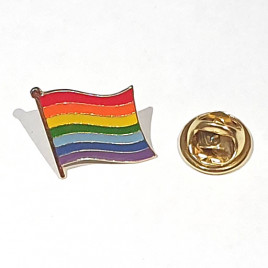 Gay Pride LGBT+ Flag Enamel Pin Badge