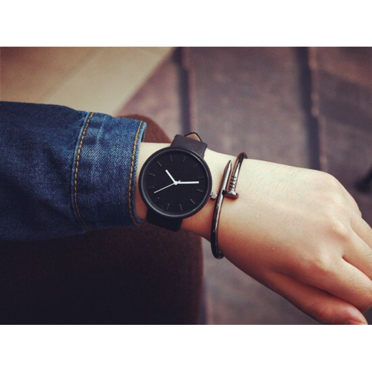 Watch Minimalist Black