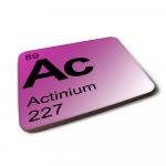 Periodic Table Elements Coaster - Choose Your Element