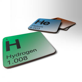 Periodic Table Elements Coaster - Choose Your Elem