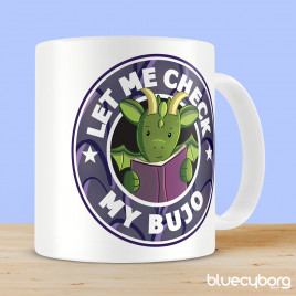 Let Me Check My Bujo Dragon Mug