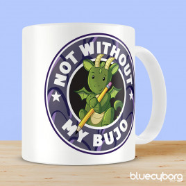 Not Without My Bujo Dragon Mug