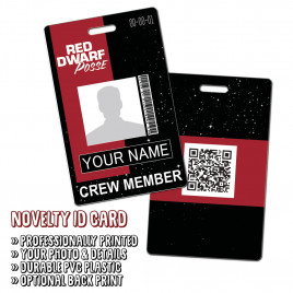 The Red Dwarf Posse ID Card