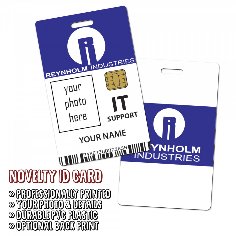 Reynholm Industries Novelty ID