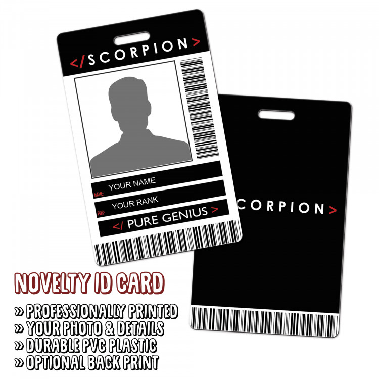Scorpion Novelty ID