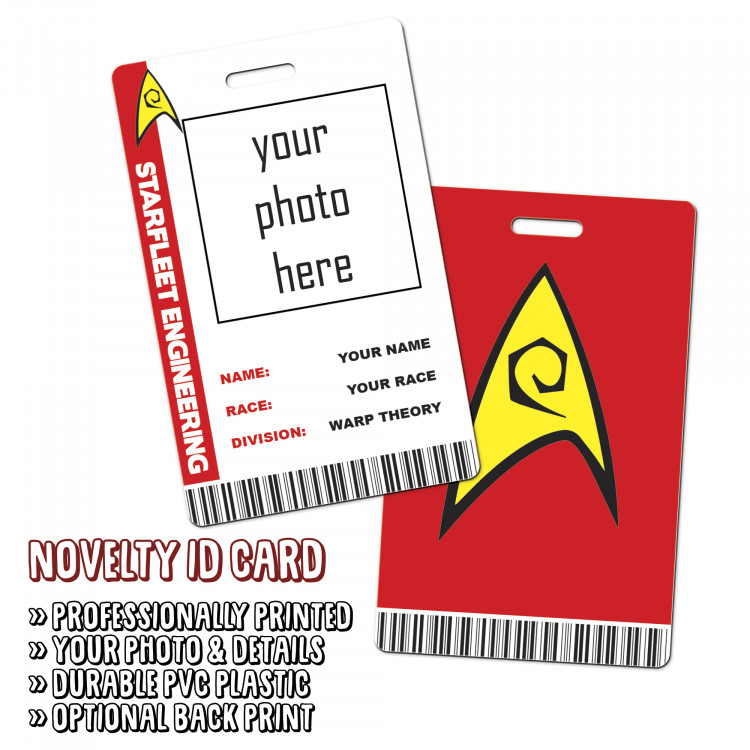 Starfleet Engineering  Novelty ID