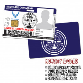 Stargate Command - Cheyenne Mountain Novelty ID