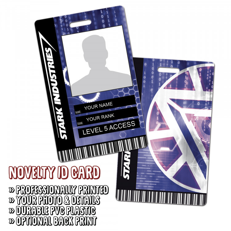 Stark Industries Novelty ID
