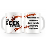 The Geek Asylum - Caffeine Mug