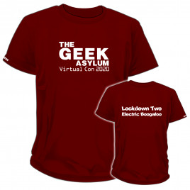 The Geek Asylum - LIMITED EDITION - Virtual Con 2020 Electric Boogaloo