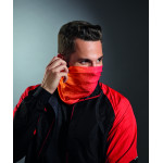 Morf® Geometric Multi-functional Face Covering - Orange