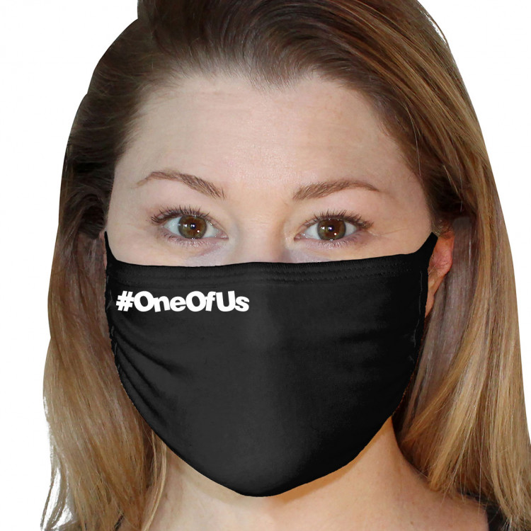 Washable 3Ply Face Mask - The Geek Asylum #OneOfUs