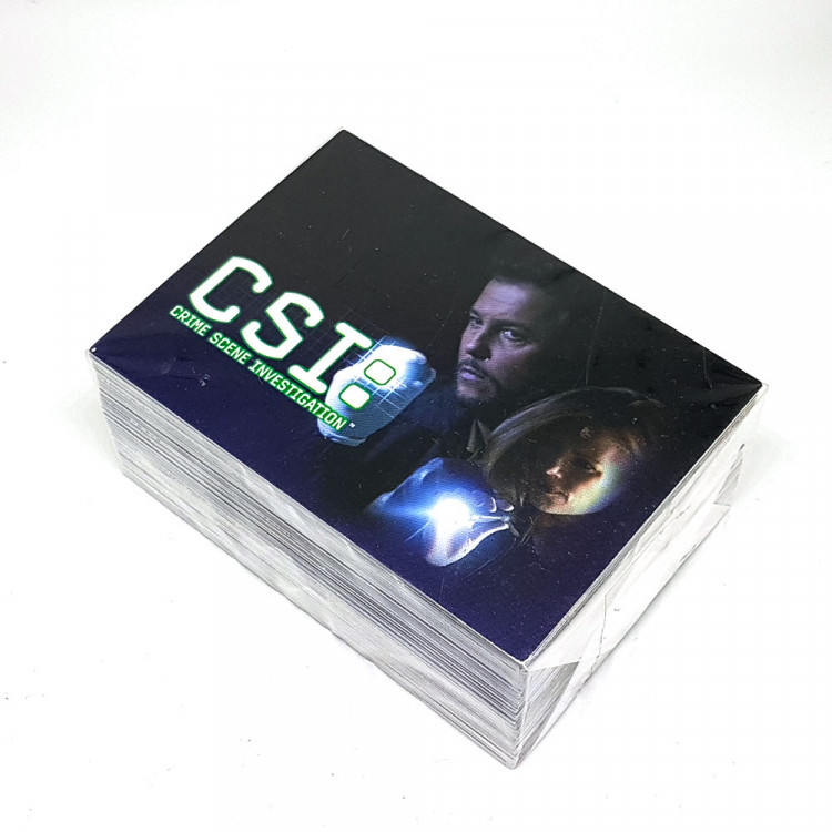 CSI Series 2 Trading Cards - Base / Basic Set